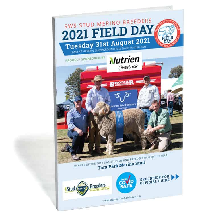 SWS Stud Merino Breeders Field Day Booklet